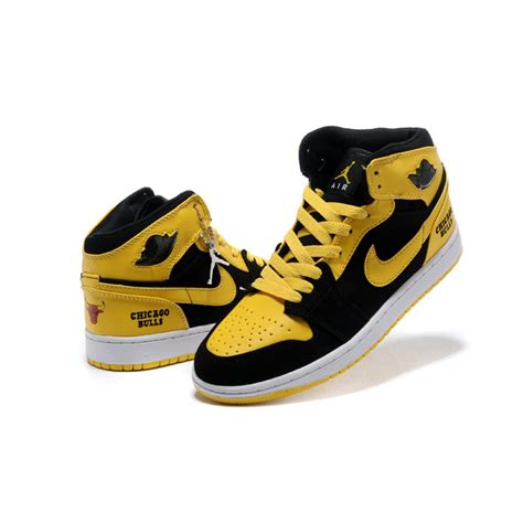 sneakers for on sale air 1 air sole high black yellow sneakers on sale