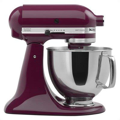 colored kitchen aid mixer kitchenaid artisan 5 qt stand mixer color boysenberry