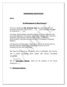 Utility Certification Letter Teaching Experience Certificate Format Doc Lawteched
