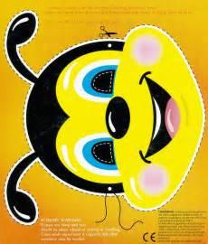 printable bee mask template bee mask template bee mask asda bug clip art