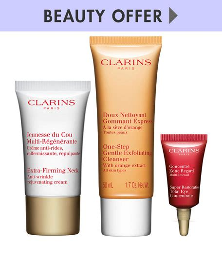Clarins Firming Mask 8ml bergdorf goodman gifts with purchase makeup bonuses