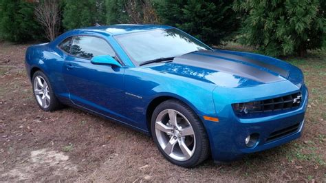 blue 2010 camaro 2010 camaro rs aqua blue metallic only 3600 made
