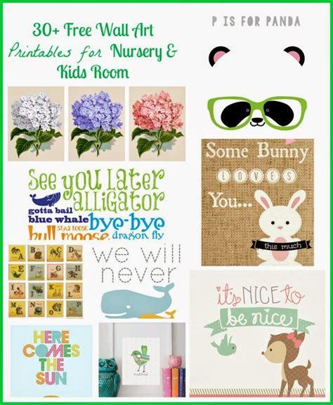 wall art printables  nursery  kids room