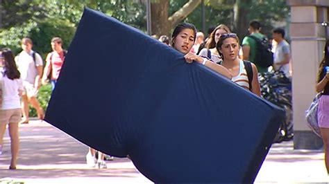 columbia mattress columbia student carrying mattress to protest alleged