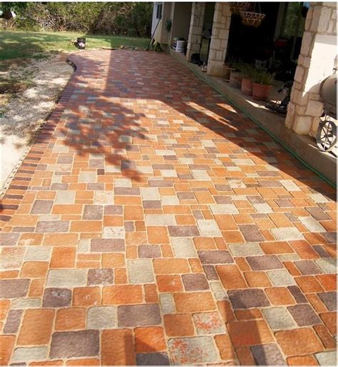 Patio Molds Concrete Pavers 40 Best Images About Patio Pavers Design On Pinterest