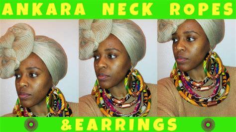 Item V Neck Genji Rope 24 ankara neck ropes earrings show n tell ep 4