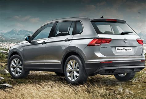 volkswagen starting price volkswagen tiguan suv launched in india at a starting