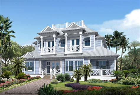 florida style residential house plans portfolio lotus architecture