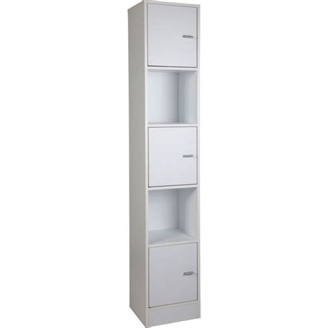 bathroom shelves argos buy wow home tall bathroom storage unit white at argos