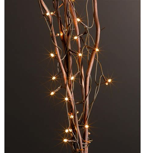 Twig Lights Brown Dzd Twig Lights