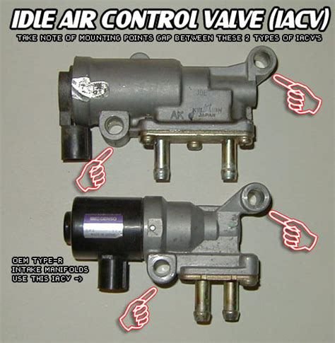 b18 idle air valve compatible with b16a honda