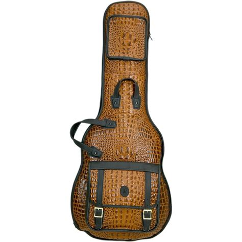 The Guitar Bag by Levy S Crocodile Leather Electric Guitar Gig Bag Ebay
