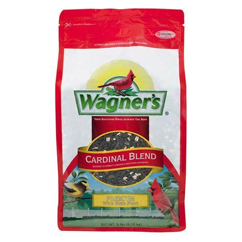 wagner s 6 lb cardinal blend wild bird food shop your