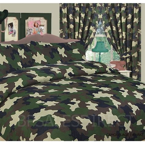 Camouflage Quilt Cover by Army Camouflage Camo Duvet Quilt Cover Bedding