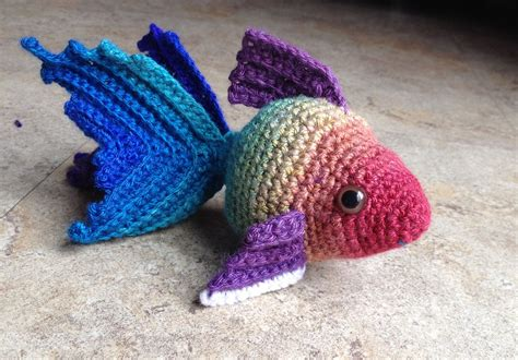 amigurumi pattern ravelry fancy goldfish amigurumi by kate wood free crochet