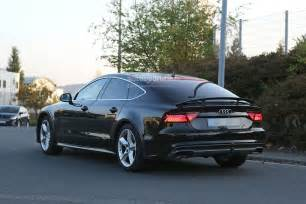 Audi Cm Spyshots 2018 Audi A7 Chassis Testing Mule Seen For The