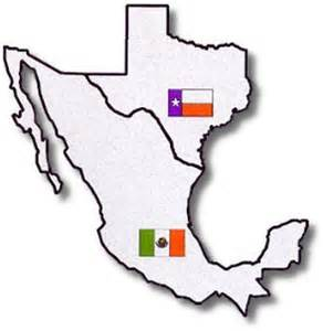 Texas Mexico Map by Texas Mexico Map