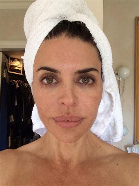 lisa rinnamakeup lisa rinna debuts makeup free face rumorfix the anti