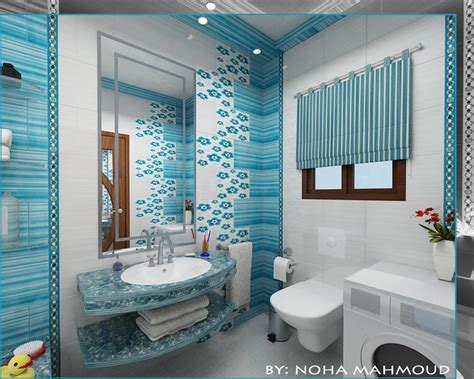children bathroom ideas soft blue bathroom wall tiles ideas