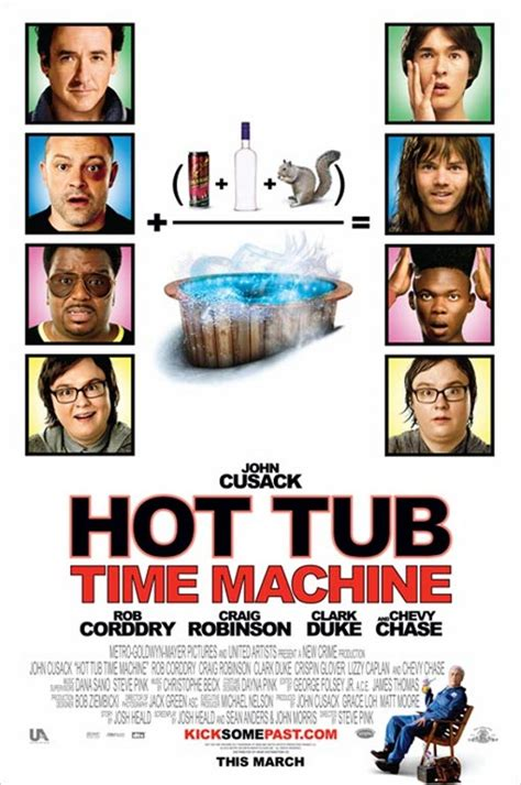 Hot Tub Time Machine 2010 Full Movie Posters Hot Tub Time Machine Leaves Of Grass Animal Kingdom Wall Street 2 And More
