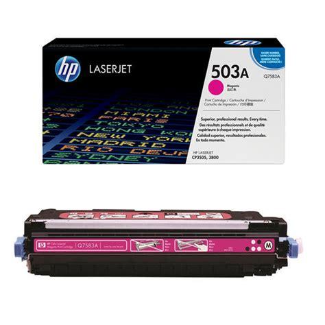 Toner Laserjet Hp 503a hp 503a magenta toner cartridge q7583a