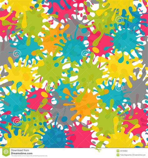 background pattern splash vector splash abstract seamless pattern background stock