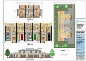 Duplex Townhouse Plans by Duplex And Townhouse Plans Home Builders Brisbane