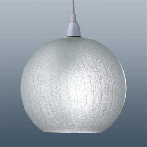 crackle effect glass shade shaped crglpd the