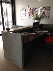 Industrial Style Reception Desk Reception Desk Home Design Ideas Pictures Remodel And Decor