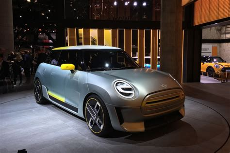 2019 Mini Electric by Bmw Reveals Mini Electric Concept Previewing 2019