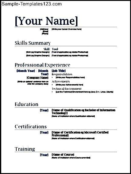 basic resume template pdf free basic resume template pdf sle templates sle
