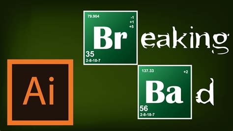 tutorial breaking bad logo illustrator