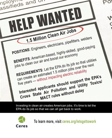 Climateaccess Org Help Wanted Ad Template