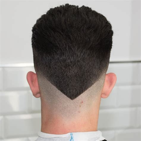 how to cut a v haircut new hairstyles for men the v shaped neckline
