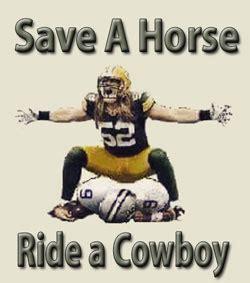Save A Horse Ride A Cowboy Meme - packer fan cave more river city lanes bruno s restaurant