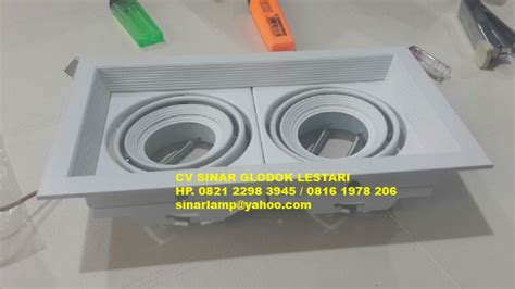 Senter Surya Cob Emergency rumah downlight 2 mr16