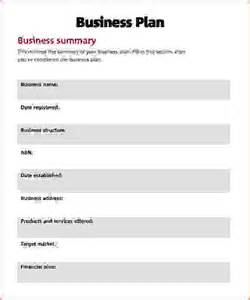 business plan simple template 8 simple business plans procedure template sle