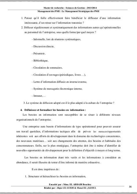 Rapport ms des PME