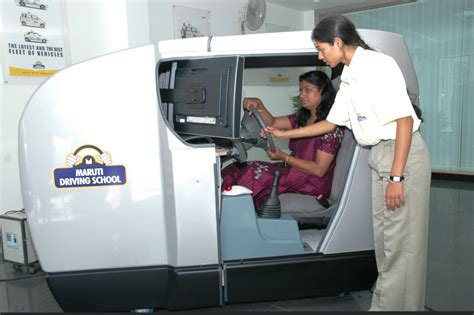 maruti driving simulator maruti and ola cabs program will benefit 40 000