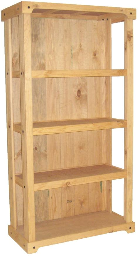 wood shelving stand closed  design