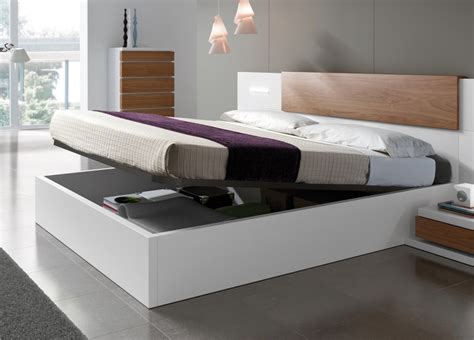 Contemporary Bed Frames Uk Kenjo Storage Bed Storage Beds Contemporary Beds Bedroom Furniture