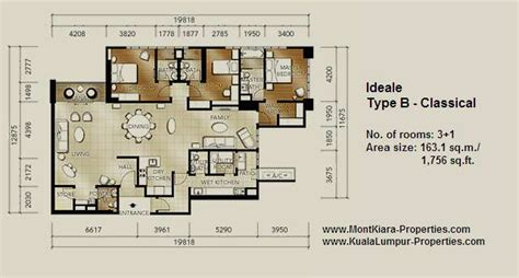 zen 2 layout tiffani by i zen mont kiara properties com