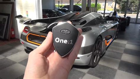 koenigsegg one key 00 koenigsegg one 1 in depth exterior and interior tour