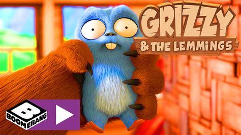 grizzy und die lemminge wunderbare technik boomerang