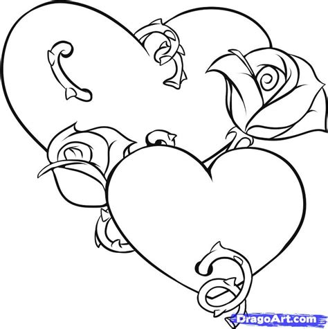 how to draw tattoo roses step by step how to draw hearts and roses step by step tattoos pop