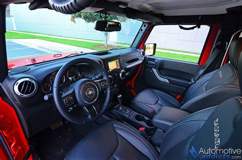 jeep wrangler dashboard 2016 jeep wrangler unlimited review test drive