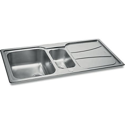 Homebase Kitchen Sinks Carron Zeta 150 Kitchen Sink 1 5 Bowl