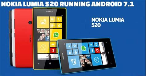 Hp Nokia Android Lumia 520 2020tech how android 7 1 nougat can be run on nokia lumia 520 windows phone