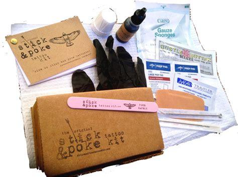 tattoo kit unboxing purchase stick and poke tattoo kit