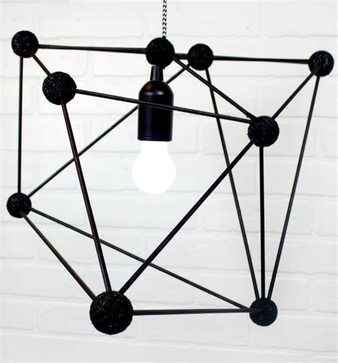 diy geometric pendant light diy geometric pendant light